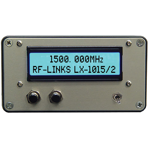 RF-Links LX-1015/2 Video/Audio Transmitter 1000 to 1500 MHz (NTSC, PAL)