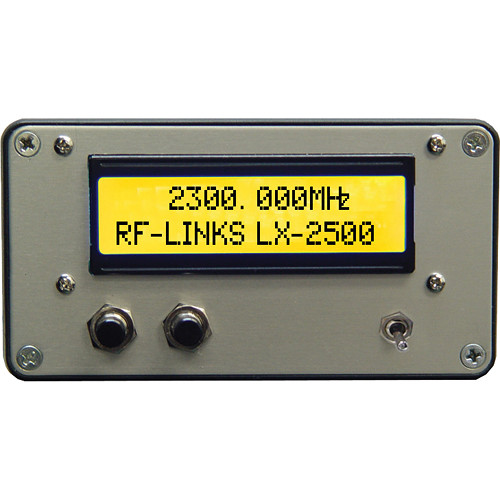 RF-Links LX-2500/2 Video/Audio Transmitter 2.4 GHz (NTSC, PAL) For VRX Receiver