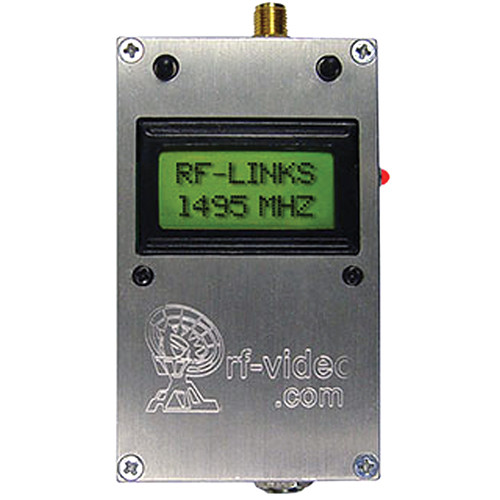 RF-Links WTX-1020LCD Audio/Video Transmitter 1 GHz - 2 GHz