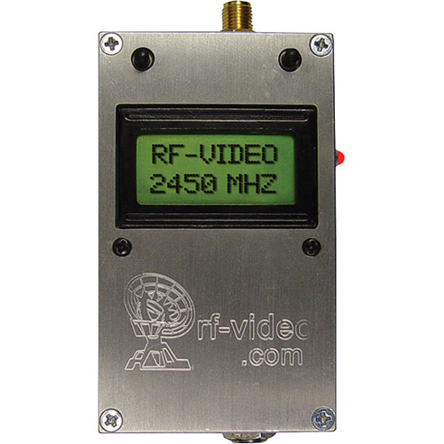 RF-Links WTX-2400/H Audio / Video Transmitter for 2.4GHz, 500 mW with LCD Display