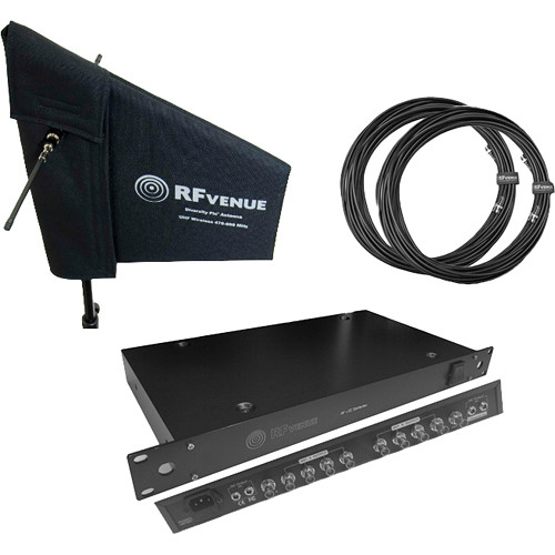 RFvenue 4-Channel Distribution & Diversity Fin Antenna Bundle