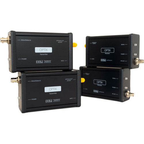 RFvenue OPTX2 - RF Optix Diversity Fiber-Optic Remote-Antenna Distribution System