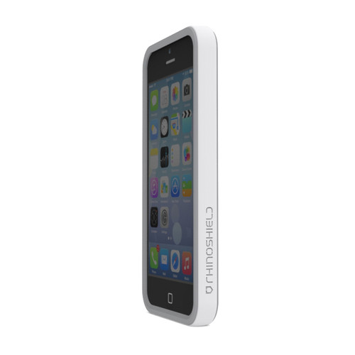 RhinoShield Crash Guard Bumper for iPhone 5/5s (White)
