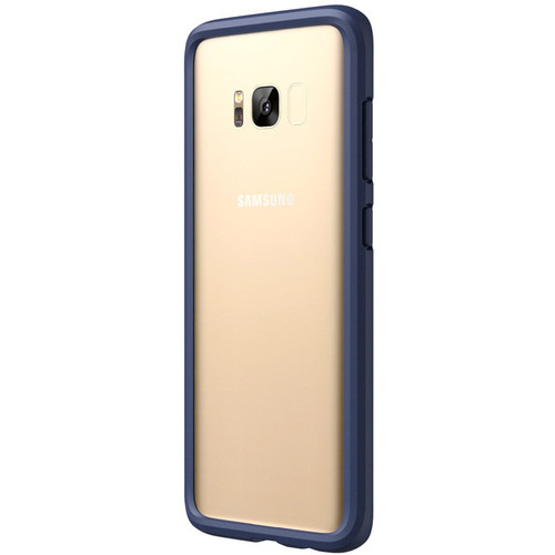 RhinoShield CrashGuard Bumper for Galaxy S8+ (Dark Blue)