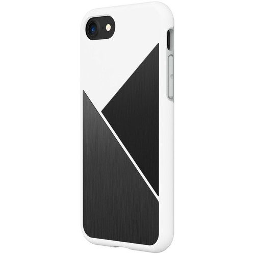 RhinoShield SolidSuit Case for iPhone 7/8 (White Brushed Steel)