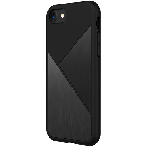 RhinoShield SolidSuit Case for iPhone 7 (Black Brushed Steel)