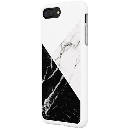 RhinoShield SolidSuit Case for iPhone 7 Plus/8 Plus (White Marble)