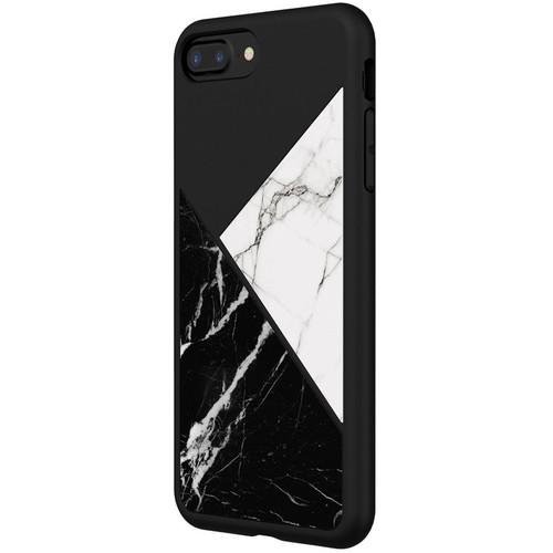 RhinoShield SolidSuit Case for iPhone 7 Plus/8 Plus (Black Marble)