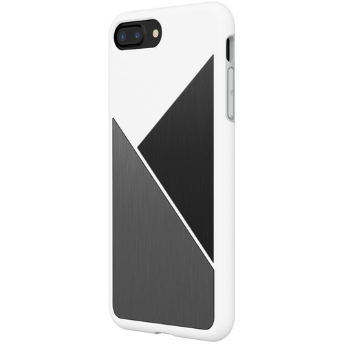 RhinoShield SolidSuit Case for iPhone 7 Plus/8 Plus (White Brushed Steel)