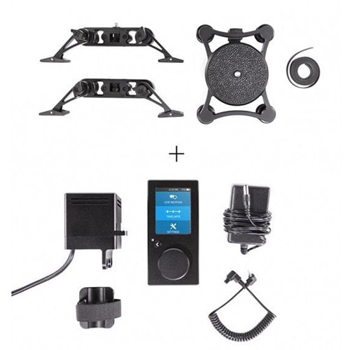 Rhino Camera Gear Upgrade for 2' EVO Slider with Components for Motion Controller