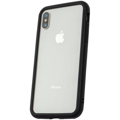 RhinoShield Mod Case for iPhone X (Black, Clear Backplate)