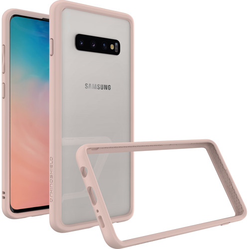 RhinoShield CrashGuard Bumper Case for Samsung Galaxy S10+ (Blush Pink)