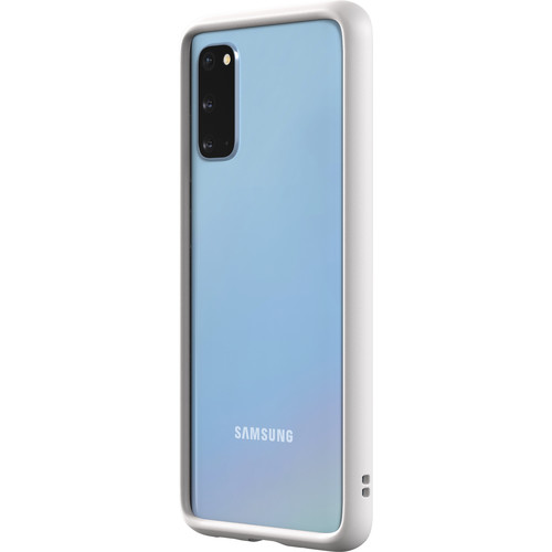 RhinoShield CrashGuard Bumper for Samsung Galaxy S20 (White)