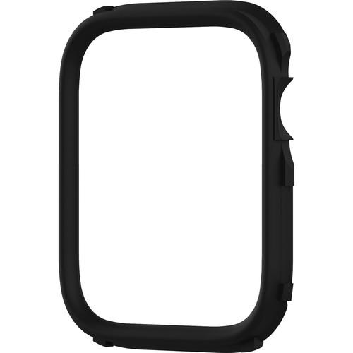 RhinoShield CrashGuard NX Rim for Apple Watch Series 4 & 5 (Black, 40mm)