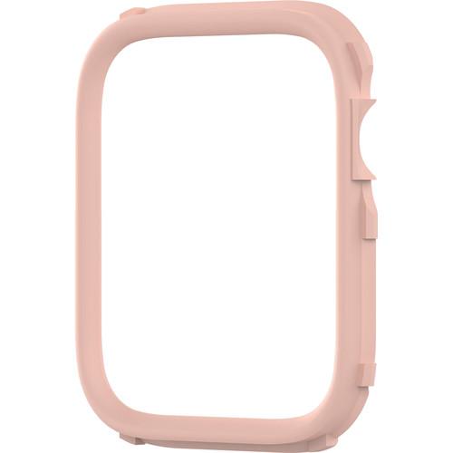 RhinoShield CrashGuard NX Rim for Apple Watch Series 4 (Blush Pink, 40mm)