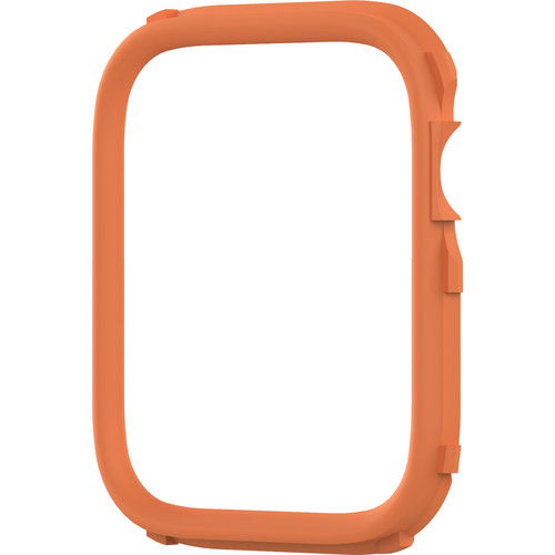 RhinoShield CrashGuard NX Rim for Apple Watch Series 4 (Orange, 44mm)