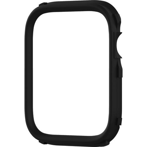 RhinoShield CrashGuard NX Rim for Apple Watch Series 4 (Black, 44mm)