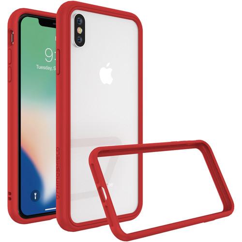 RhinoShield CrashGuard NX iPhone XS Max Case (Red)