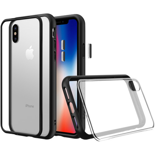 RhinoShield Mod NX iPhone X Case (Black)