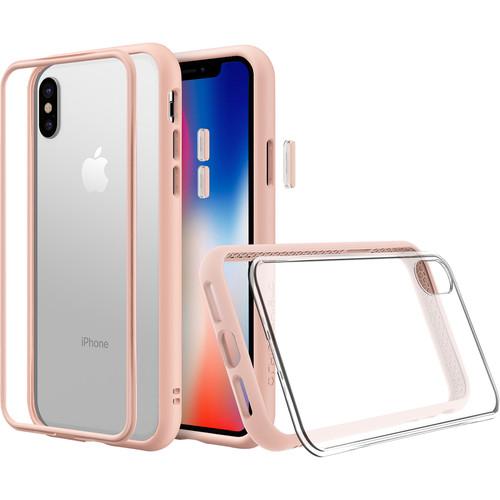 RhinoShield Mod NX iPhone X Case (Blush Pink)