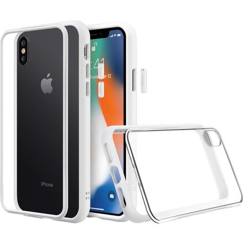 RhinoShield Mod NX iPhone XS Max Case (White)
