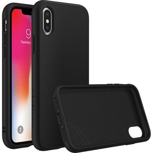 RhinoShield SolidSuit Case for iPhone X (Black Classic Finish)