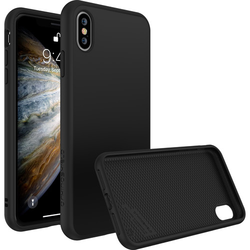 RhinoShield SolidSuit Case for iPhone XS (Black Classic Finish)