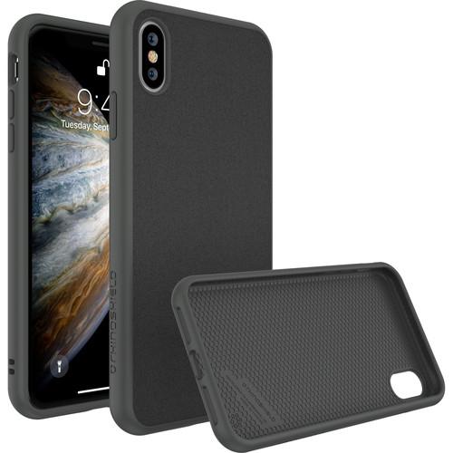 RhinoShield SolidSuit Case for iPhone X (Graphite Microfiber Finish)