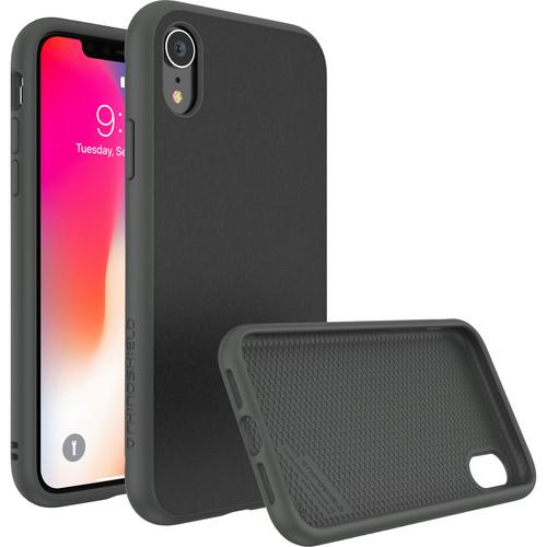 RhinoShield SolidSuit Case for iPhone XR (Graphite Microfiber Finish)