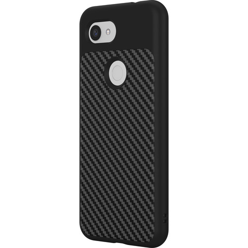 RhinoShield SolidSuit Case for Google Pixel 3a (Black Carbon Finish)