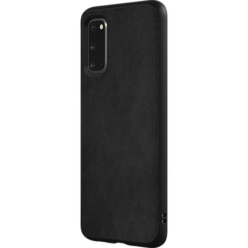 RhinoShield SolidSuit Case for Samsung Galaxy S20 (Leather/Black)