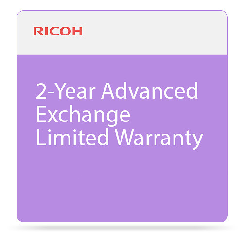 Ricoh 2-Year Advanced Exchange Limited Warranty for SP 377SFNwX Printer