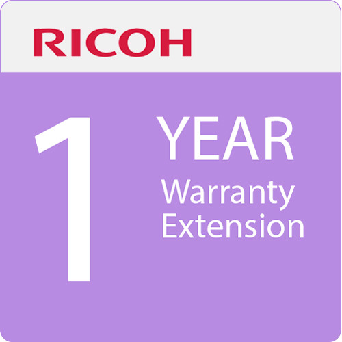 Ricoh 1-Year Warranty Extension for D6510 Interactive Whiteboard