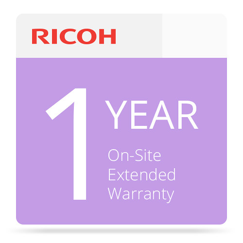 Ricoh 1-Year On-Site Extended Service Warranty for P C600 Color Laser Printer