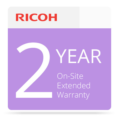 Ricoh 2-Year On-Site Warranty Service for M C250FW Color Laser Printer