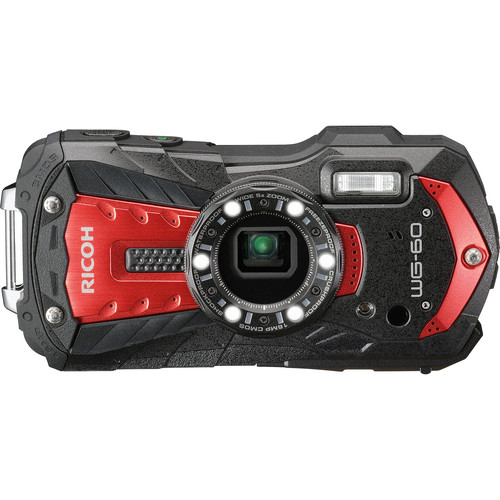 Ricoh WG-60 Digital Camera (Red)