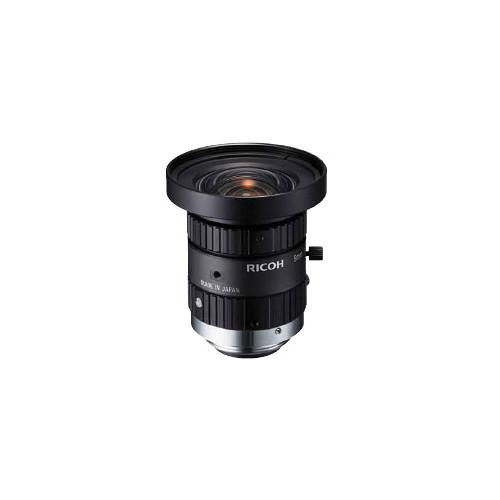 "Ricoh 1/2"" 5mm F1.4 Manual Iris Lens with Locking Screws"