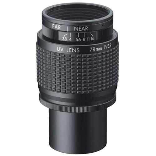 Ricoh C-Mount 78mm 3.8-16 Ultraviolet Lens
