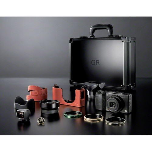Ricoh GR II Digital Camera Premium Kit