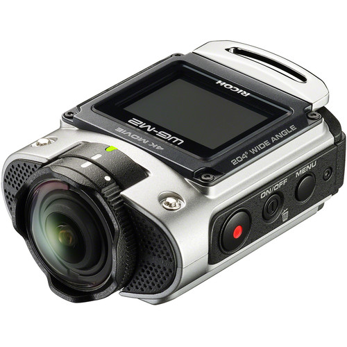 Ricoh WG-M2 Action Camera Kit (Silver)