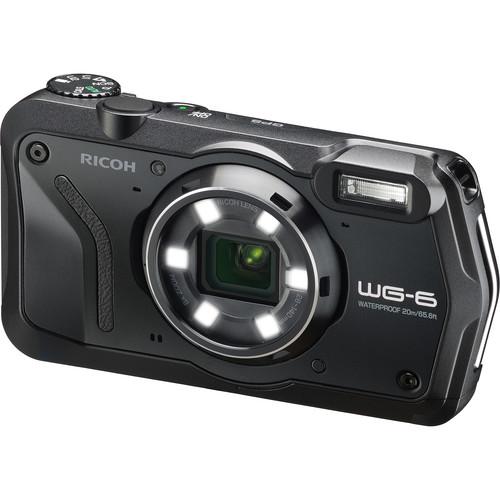 Ricoh WG-6 Digital Camera (Black)