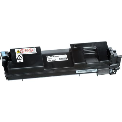 Ricoh SP C360HA Cyan High-Yield Toner Cartridge