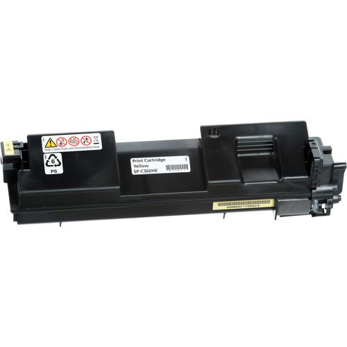 Ricoh SP C360HA Yellow High-Yield Toner Cartridge