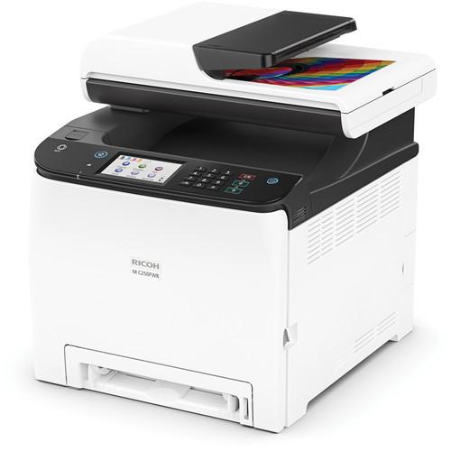 Ricoh M C250FWB Color Laser Multifunction Printer
