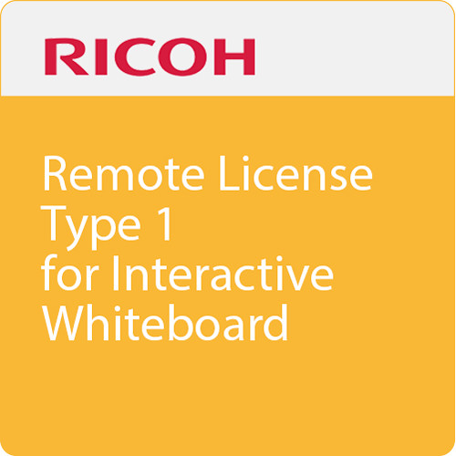 Ricoh Remote License Type 1 for Interactive Whiteboard