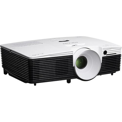 Ricoh WXGA 3100-Lumen Portable/Desk Edge DLP Projector (No Lens)