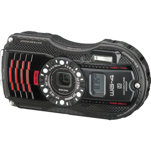 Ricoh WG-4 GPS Digital Camera (Black)