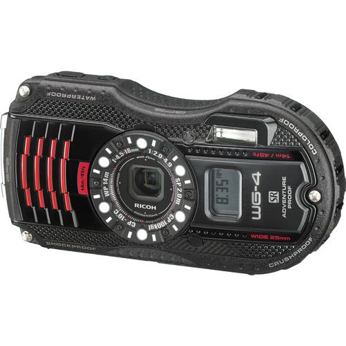 Ricoh WG-4 GPS Digital Camera (Black)