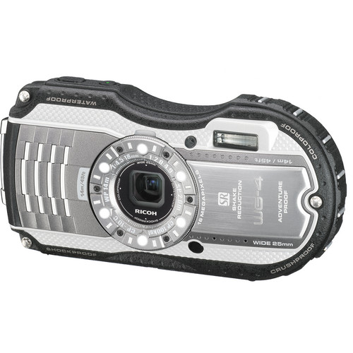 Ricoh WG-4 Digital Camera (Silver)
