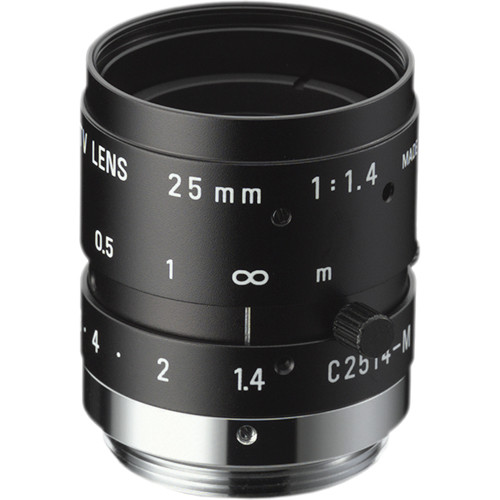 "Ricoh 25mm f/1.4 2MP 2/3"" FL Series C-Mount Machine Vision Lens"